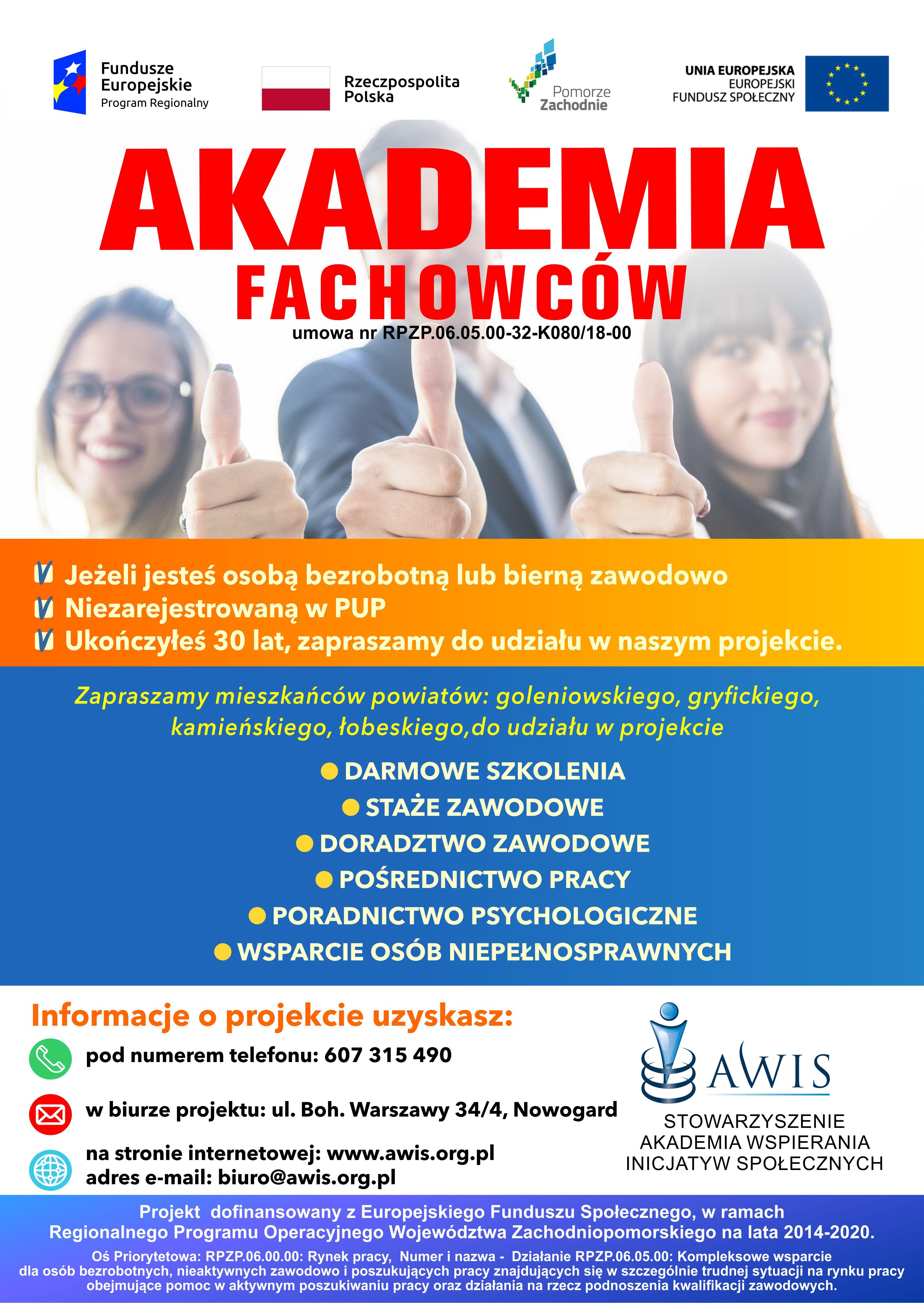 plakat Akademia Fachowcow